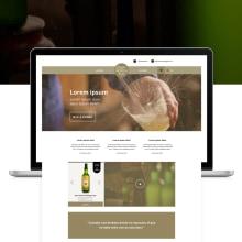 Restyling Web Llagar la Morena. Un proyecto de Diseño gráfico y Diseño Web de María Criado - 10.11.2017
