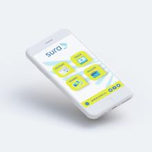 UX/UI Design App Sura. A Information Design, and UI / UX project by Rodrigo Pizarro - 11.13.2017