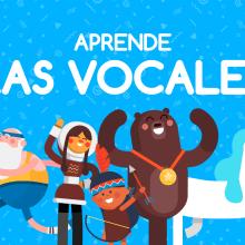 'Las vocales' (Parapachín). Un proyecto de Animación de personajes de Moncho Massé - 10.09.2015