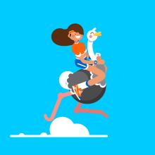 We Compete. Un proyecto de Animación de personajes de Moncho Massé - 10.06.2016