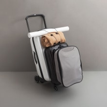 Bugaboo Luggage para CBDA. A Photograph, Art Direction, Video, and Stop Motion project by Mina Barrio - 11.14.2017