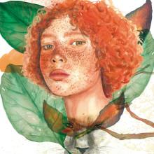 Mi Proyecto del curso: Retrato ilustrado en acuarela. Um projeto de Artes plásticas de Sonia Salvador Luna - 19.11.2017