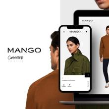 Mango Committed. Interactive shopping experience. Un proyecto de UI / UX, Moda y Diseño Web de Redbility - 20.11.2017