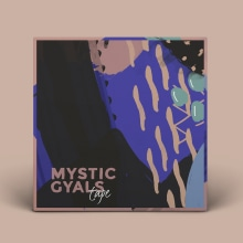 Mystic Gyals Cover. Um projeto de Design de Clara Briones Vedia - 24.11.2017