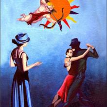 Tarot. Um projeto de Ilustração de Martín Cigara - 30.11.2017