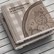 El libro de la pizza. Un proyecto de Ilustración, Dirección de arte y Diseño editorial de Diego Checa - 30.11.2017