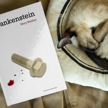 Frankenstein. Un proyecto de Dirección de arte, Diseño editorial y Diseño gráfico de Diego Checa - 01.12.2017