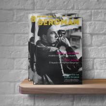 Bergman magazine. Un proyecto de Ilustración, Dirección de arte, Diseño editorial, Diseño gráfico y Retoque fotográfico de Diego Checa - 02.12.2017
