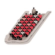 Cruzar el Estrecho – Infografía. A Design, Illustration, Grafikdesign, Informationsdesign, Infografik und Icon-Design project by Diego Ramírez - 07.12.2017