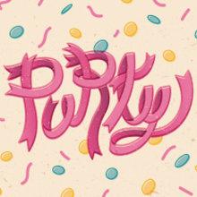 THE PARTY STARTS NOW! · Vector Lettering & illustration. Un proyecto de Diseño, Ilustración, Diseño gráfico, Lettering e Ilustración vectorial de Mapy D.H. - 06.06.2017