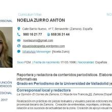 Presentación profesional . Un proyecto de Fotografía de Noelia Zurro Antón - 09.12.2017