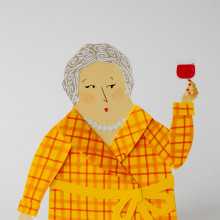 Izeba Marian. Un proyecto de Ilustración de AndreaEscargot - 20.12.2017