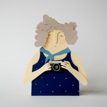 Izeba Miren. Un proyecto de Ilustración de AndreaEscargot - 20.12.2017