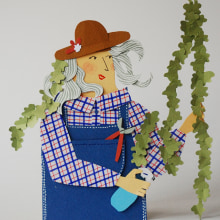 Izeba Bego. Un proyecto de Ilustración de AndreaEscargot - 20.12.2017