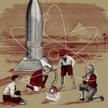 """""""How to dismantle an atomic bomb"""", U2. Un proyecto de Diseño e Ilustración de Miguel Lama - 28.12.2017"""
