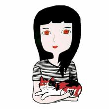 Johanna y Yoko. Un proyecto de Ilustración de Carla Ferretti - 21.08.2017