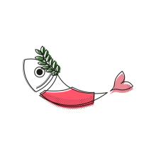 Anchoas a la Carta. Un progetto di Illustrazione, Character Design, Graphic Design e Illustrazione vettoriale di Inés Marco Aguilar - 09.01.2018