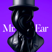 Mr. Ear. Un proyecto de 3D de James Cristhian Rocha Terceros - 09.01.2018