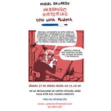 Taller para dibujantes, aficionados a la novela gráfica en México. No os lo perdais!. Un proyecto de Cómic de Miguel Gallardo - 13.01.2018