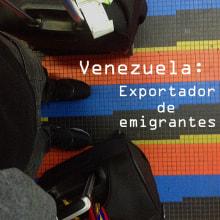 Corto docuemntal: Venezuela: Exportador de Emigrantes . Un progetto di Cinema, video e TV , e Video di Luis Enrique Zerpa Rojas - 19.12.2016