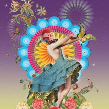 "Impresión digital Gicleé para feria de gráfica  ""La Fina Estampa"". A Design, Art Direction, Collage, and Street Art project by Zoveck Estudio - 01.16.2018"