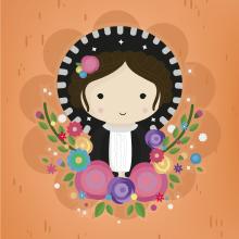 Muñecas Mexicanas. Um projeto de Design, Ilustração, Design de personagens e Ilustração vetorial de Jacqueline Murrieta - 17.01.2018