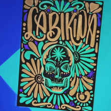 La Bikina. Um projeto de Design, Ilustração, Pintura, Tipografia e Lettering de Jacqueline Murrieta - 17.01.2018