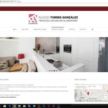 Diseño web. Un proyecto de Diseño Web de M.Nieves Jiménez - 13.07.2016