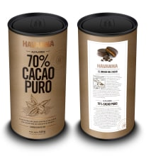 Havanna 70% Cacao Puro. A Design, Illustration, and Packaging project by Diego Giaccone - 01.24.2018