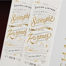 Chandon Edición limitada. A Design, Lettering, and Packaging project by Diego Giaccone - 01.24.2018