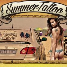 Dirección de Arte para Car Tattoo de Laura Cruz: Board Y Flyer.. Un proyecto de Diseño y Dirección de arte de Sandra Santos - 21.11.2015
