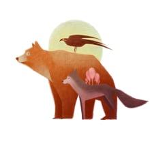 Mi Proyecto del curso: Ilustración digital con lápices de colores. Um projeto de Ilustração de Mercedes deBellard - 01.01.2018