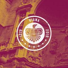 Concurso Logotipo VIII Centenario Fundación de Viana 1.219-2.019. A Design, Br, ing, Identit, and Graphic Design project by Concepción Domingo Ragel - 02.02.2018