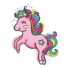 Sweet Unicorn . Un proyecto de Ilustración de Noe Tihista - 07.02.2018