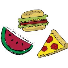 Yummy. Un proyecto de Ilustración de Noe Tihista - 07.02.2018