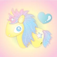 Unicorn holo. Un proyecto de Ilustración de Noe Tihista - 07.02.2018