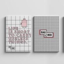 BAG IN BOX. Proyecto Locker 360º. A Br, ing und Identität, Innenarchitektur und Piktogramme project by Wanna - 28.02.2018