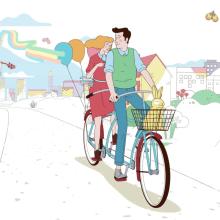 Abanca - Plácido y Serena. Un projet de Animation, Animation de personnage , et Publicité de Javier Lourenço - 12.02.2018