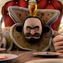 Cif - El rey derrochador. Un projet de Publicité, 3D, Animation , et Animation de personnage de Javier Lourenço - 12.02.2018