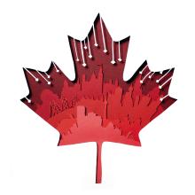Canadá. Un proyecto de Diseño, Fotografía, Dirección de arte, Artesanía, Diseño editorial, Diseño gráfico y Papercraft de Antonio Dos Santos Pereira - 21.02.2018