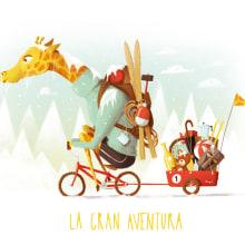 LA GRAN AVENTURA. Un proyecto de Ilustración de gaur il•lustració - 21.02.2018