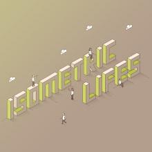 Isometric Lifes. Un progetto di Design, Illustrazione, Direzione artistica, Character Design, Illustrazione vettoriale , e Progettazione di icone di Víctor Montes - 22.02.2018