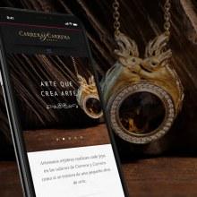 Carrera y Carrera Website. Un proyecto de UI / UX, Dirección de arte, Diseño interactivo, Diseño de jo, as, Diseño Web y Desarrollo Web de Redbility - 27.11.2015