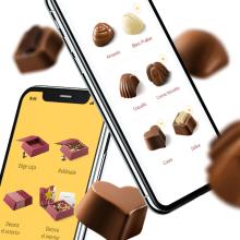 Nestlé. Díselo con Chocolate. Responsive website. Un proyecto de Diseño, UI / UX, Dirección de arte, Arquitectura de la información, Diseño interactivo, Diseño Web y Desarrollo Web de Redbility - 31.05.2012
