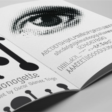"""Tipografía """"Donogette"""". Un proyecto de Tipografía de Oscar Gómez Trigo - 24.02.2018"""