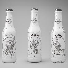 Mi Proyecto del curso: Branding y Packaging para una Cerveza Artesanal. A Illustration, Br, ing, Identit, and Vector Illustration project by Laura Satizabal - 03.09.2018