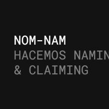NUEVA WEB NOM-NAM. Un proyecto de Diseño de Xavier Grau Castelló - 12.03.2018