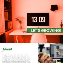 Sitio web - Agencia de marketing para negocios relacionados con el cannabis. A Design, UI / UX, Web Design, and Web Development project by Roberto Angulo - 03.29.2018