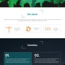 Sitio web - Iglesia cristiana protestante . A Design, UI / UX, Web Design, and Web Development project by Roberto Angulo - 03.29.2018
