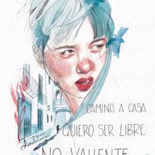 Camino a casa. Un proyecto de Ilustración de Amalia Torres - 30.03.2018